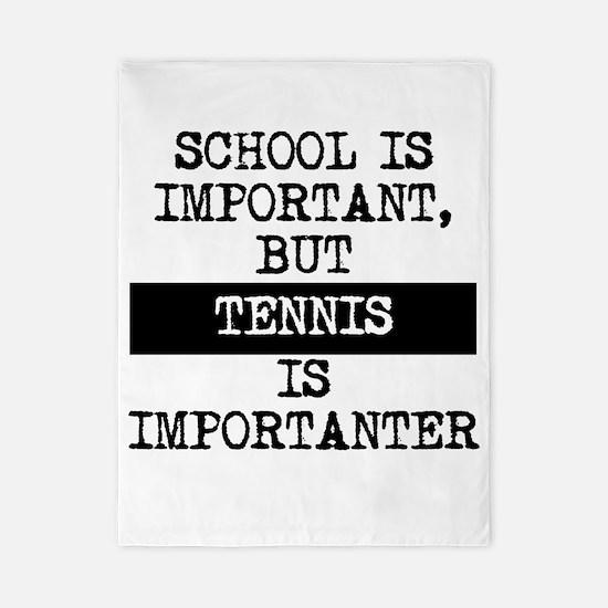 Tennis Is Importanter Twin Duvet