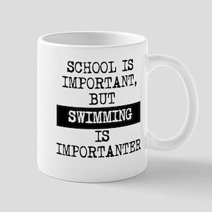 Swimming Is Importanter Mugs