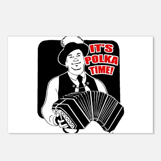 Polka Time Postcards (Package of 8)
