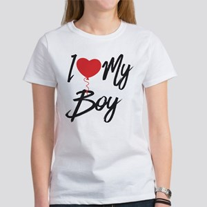 I love my boy Women's T-Shirt