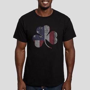 Vintage Irish American Flag Shamrock T-Shirt