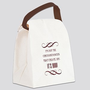 IT'S YOU! Canvas Lunch Bag