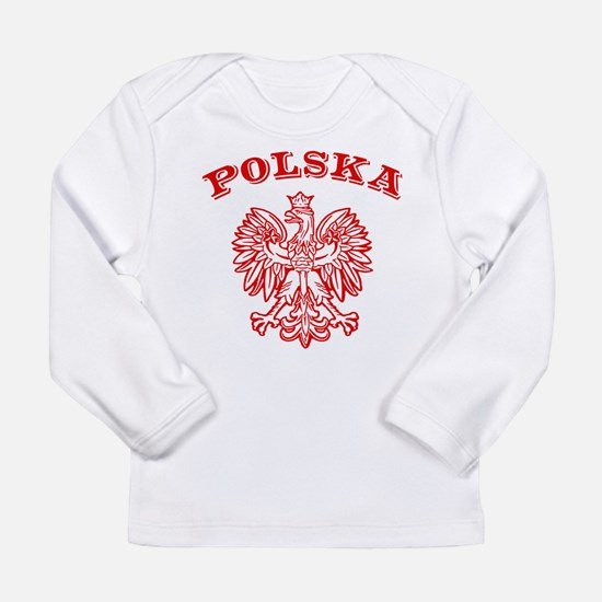 Cute Polska Long Sleeve Infant T-Shirt