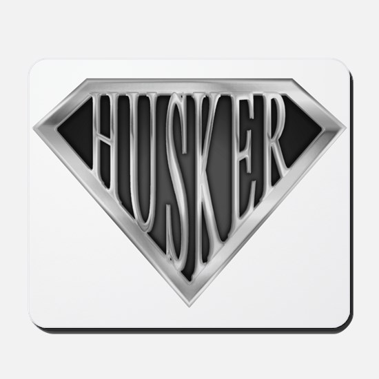 SuperHusker(metal) Mousepad