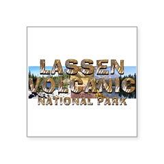 ABH Lassen Volcanic Square Sticker 3