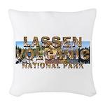 ABH Lassen Volcanic Woven Throw Pillow