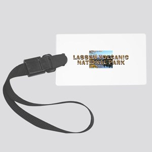 ABH Lassen Volcanic Large Luggage Tag