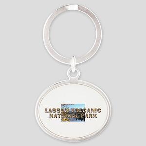 ABH Lassen Volcanic Oval Keychain
