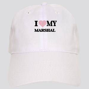 I love my Marshal (Heart Made from Words) Cap