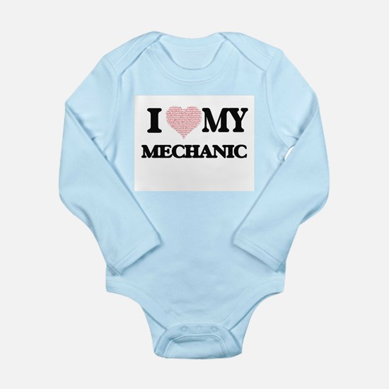 I love my Mechanic (Heart Made from Word Body Suit