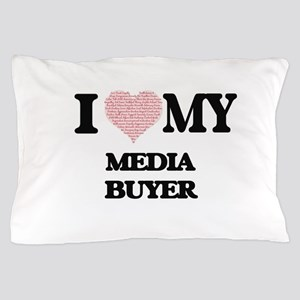 I love my Media Buyer (Heart Made from Pillow Case