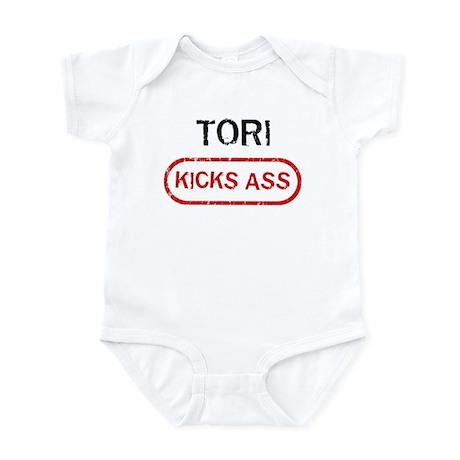 TORI kicks ass Infant Bodysuit