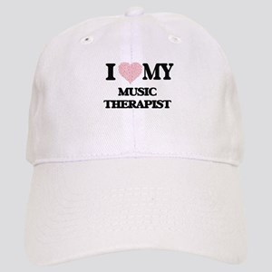 I love my Music Therapist (Heart Made from Wor Cap