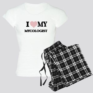 I love my Mycologist (Heart Women's Light Pajamas
