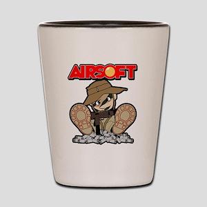 Airsoft Mac attack Shot Glass