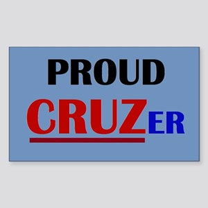 Proud Cruzer Sticker