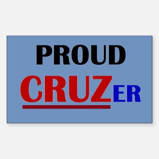 Proud Cruzer Decal