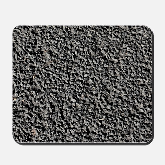 BLACK GRAVEL Mousepad