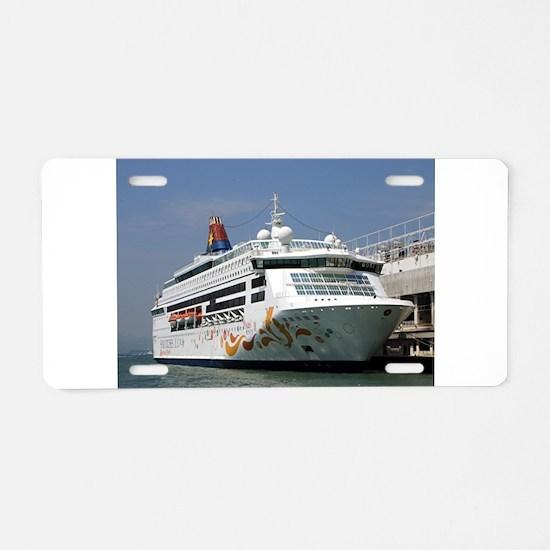 Star Pisces Cruise ship Aluminum License Plate