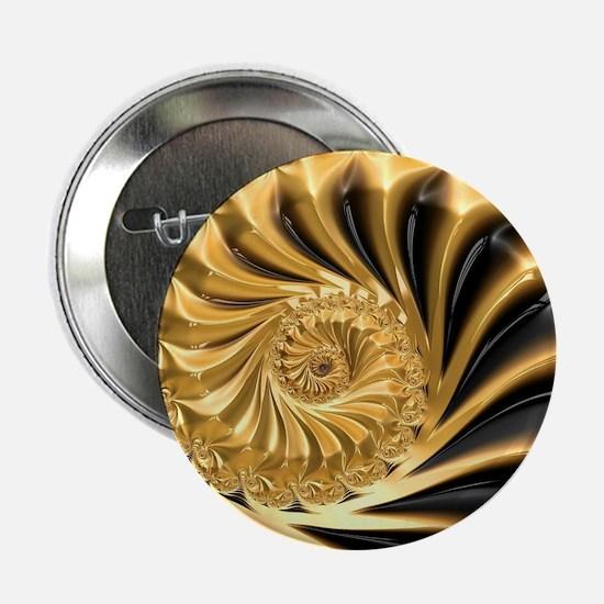 "Cute Black gold 2.25"" Button"