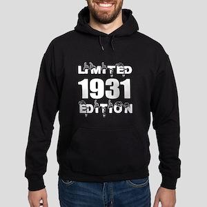 Limited 1931 Edition Birthday Design Hoodie (dark)