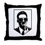 Brian Kelly Army Throw Pillow