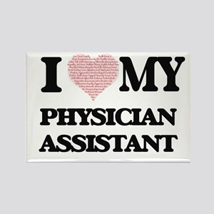 I love my Physician Assistant (Heart Made Magnets