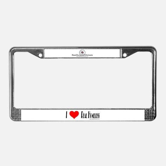 Homeless gifts License Plate Frame