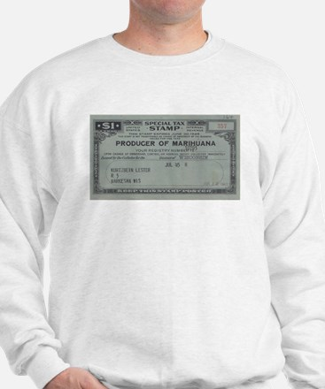 Marihuana Tax Stamp Jumper