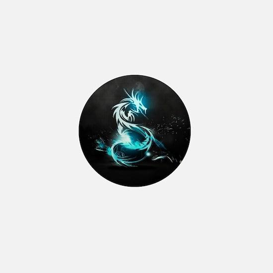 Glowing Dragon Mini Button