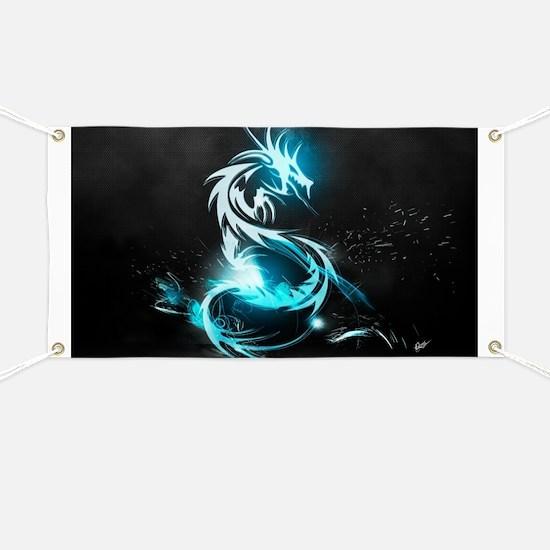 Glowing Dragon Banner
