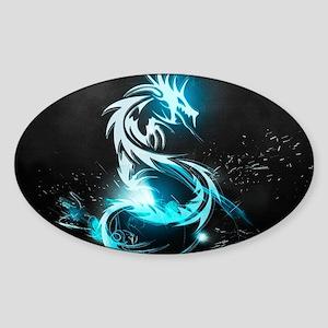 Glowing Dragon Sticker