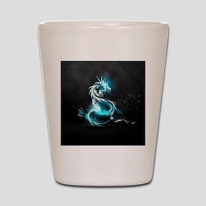 Glowing Dragon Shot Glass