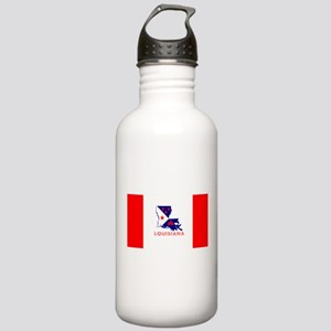 Louisiana Acadiana Red Stainless Water Bottle 1.0L