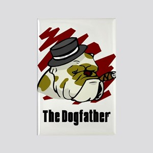 The Dogfather Rectangle Magnet