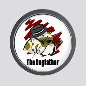 The Dogfather Wall Clock