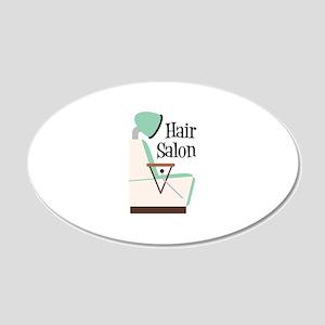 Hair Salon Wall Decal