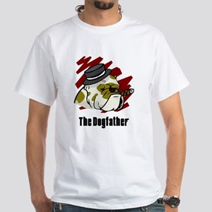 The Dogfather White T-Shirt