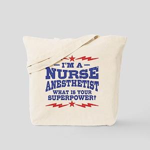 Funny Nurse Anesthetist Tote Bag