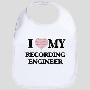 I love my Recording Engineer (Heart Made from Bib