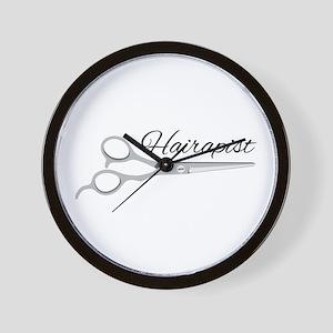 Hairapist Wall Clock