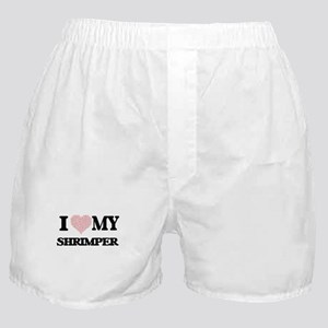 I love my Shrimper (Heart Made from W Boxer Shorts