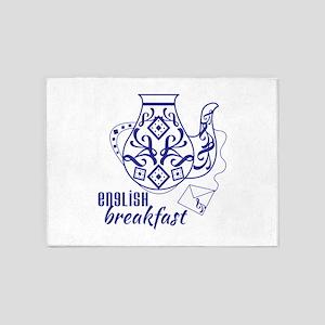 English Brekfast 5'x7'Area Rug
