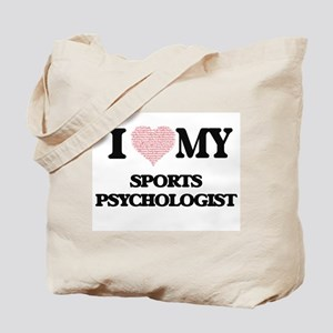 I love my Sports Psychologist (Heart Made Tote Bag