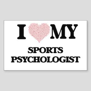 I love my Sports Psychologist (Heart Made Sticker