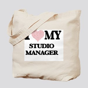 I love my Studio Manager (Heart Made from Tote Bag