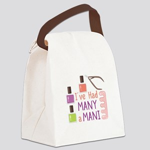 Many A Mani Canvas Lunch Bag