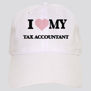 I love my Tax Accountant (Heart Made from Word Cap