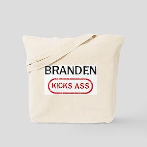 BRANDEN kicks ass Tote Bag