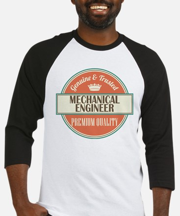 mechanical engineer vintage logo Baseball Jersey